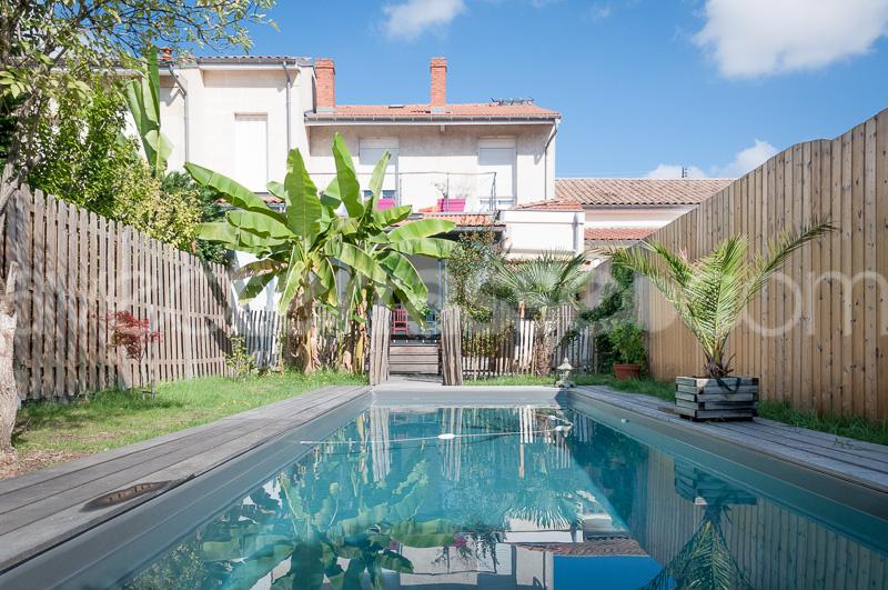 Vente maison t6 avec jardin et piscine talence for Piscine talence