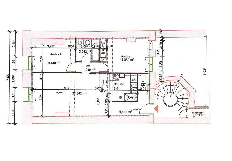 Vente vente appartement t3 bordeaux hyper centre for Vente appartement centre ville bordeaux