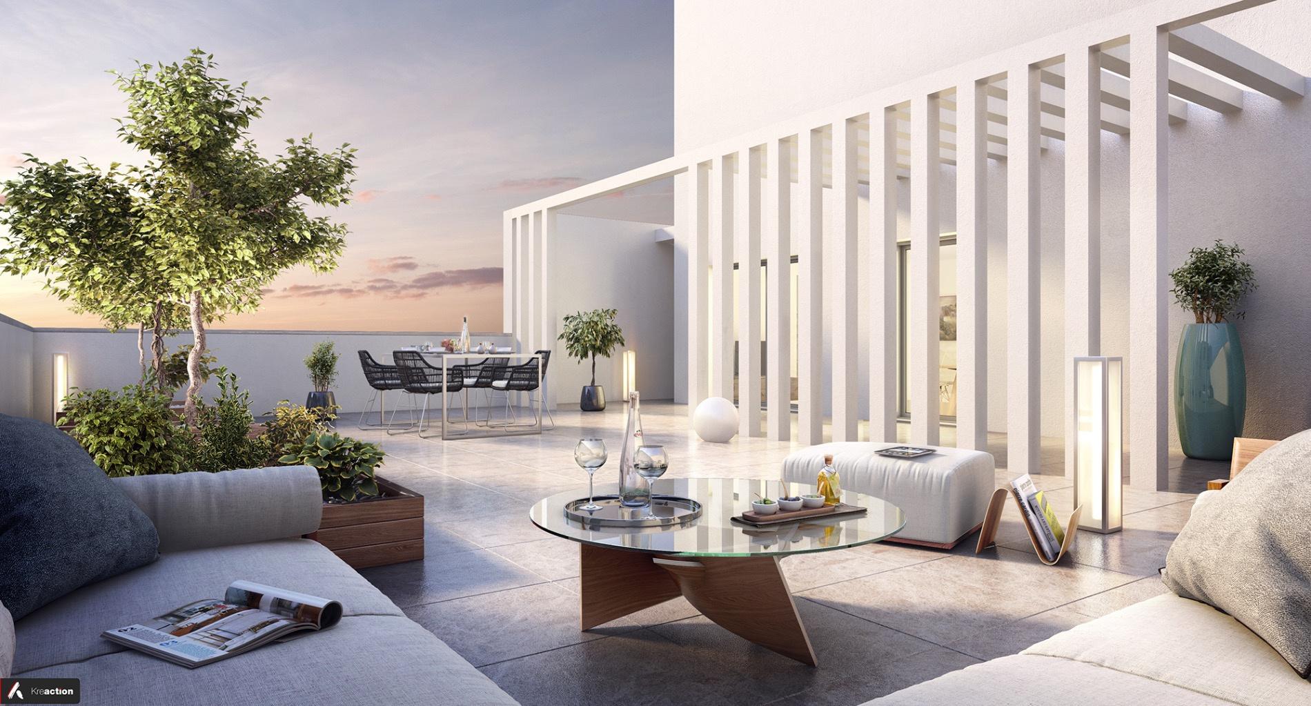 Vente le bouscat appartement duplex 4 pieces avec terrasse for Appartement le bouscat