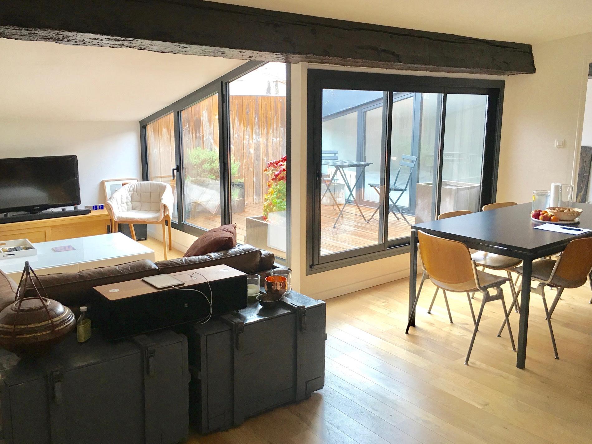 Vente bordeaux chartrons t2 55m2 avec terrasse avec terrasse for Appartement bordeaux chartrons t2